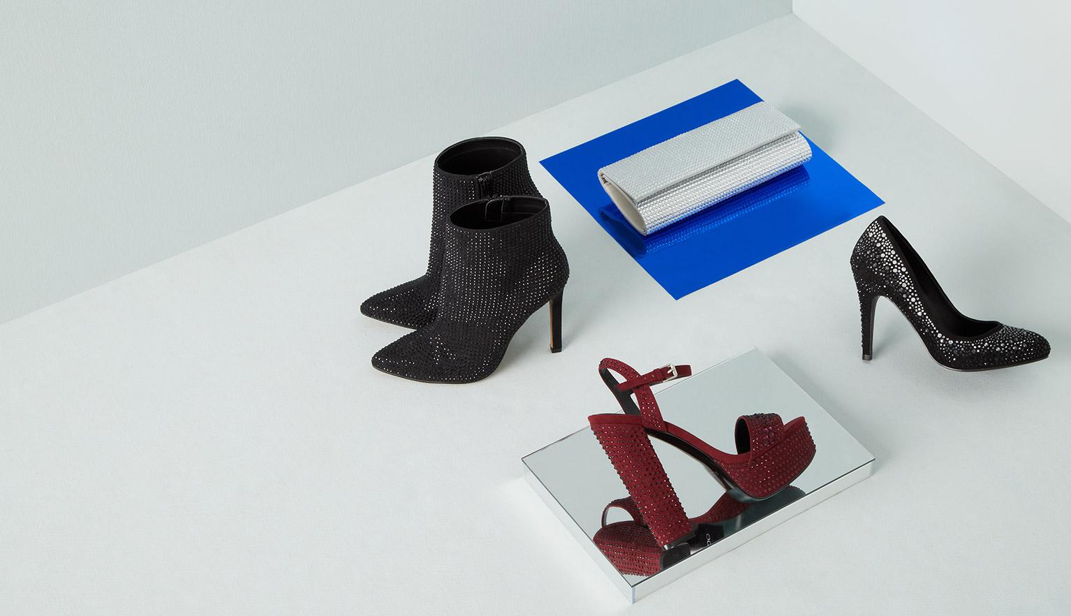 Shoes, boots, sandals, handbags & accessories