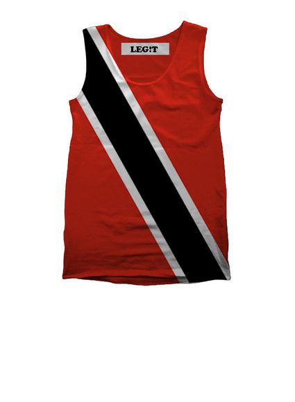 tank top flag t-shirt dress black, twerk, you can't sit with us, you can't twerk with us, twerk, miley cyrus,style,black t-shirt trinidad james trinidad island carribean flag high waisted shorts independent t-shirt