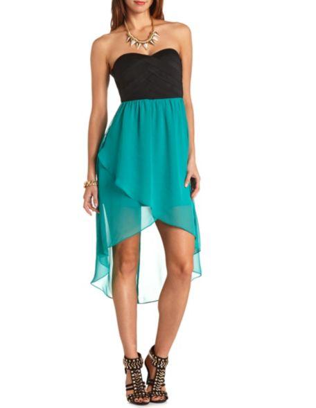 Lo 2fer dress: charlotte russe