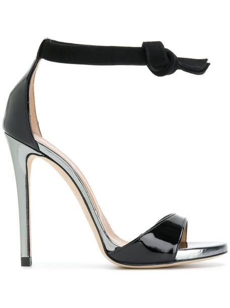 Marc Ellis women sandals leather black shoes