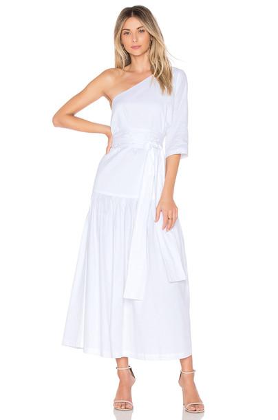 Mara Hoffman dress white