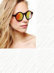 Free people  pladium sunglasses at free people clothing boutique