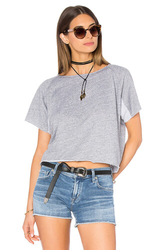 sweatshirt mini grey