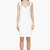 dsquared2 white sweetheart shiftdress