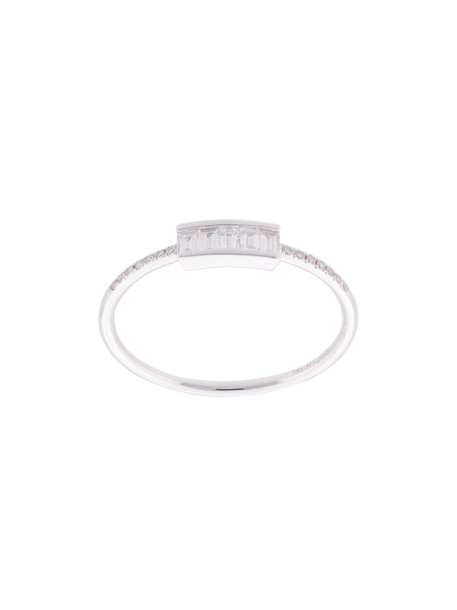 EF COLLECTION women ring gold white grey metallic jewels