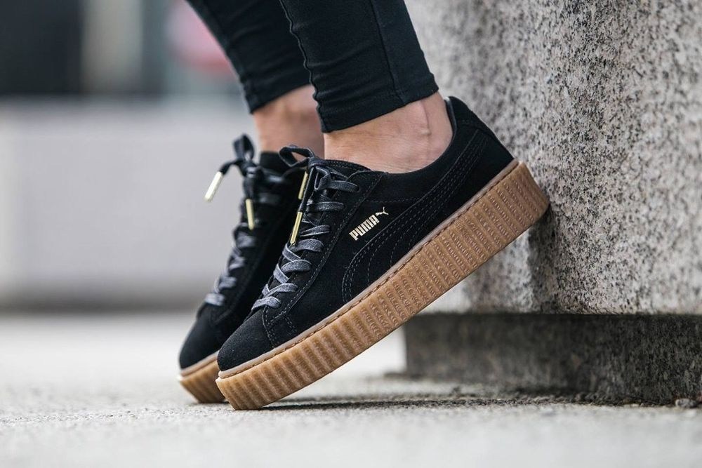 fenty by rihanna x puma creeper black