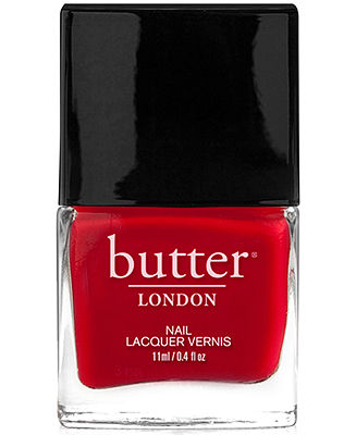 butter LONDON Nail Lacquer - Come to Bed Red - Makeup - Beauty - Macy's