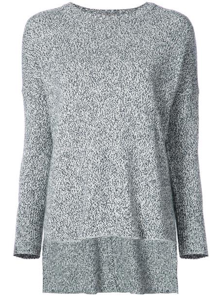 Adam Lippes sweater women cotton blue silk