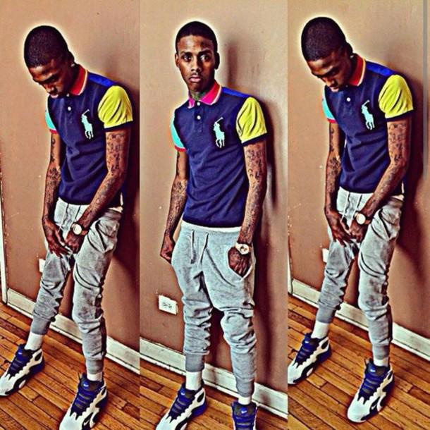 shirt famouse dex polo shirt savage chiraq chicago swaets shoes leggings mens polo mens sweatpants