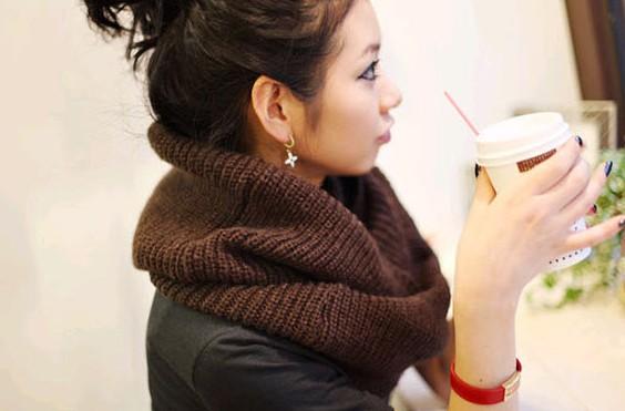 Cozy infinity knit scarf · nouveau craze · online store powered by storenvy