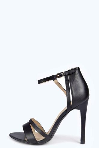 shoes black heels boohoo heels boohoo black heels strappy heels