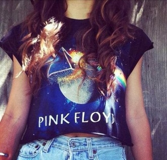 shirt pink floyd band t-shirt celebrity