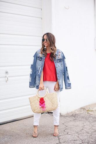 fashionably kay blogger t-shirt shoes bag sunglasses jacket jewels