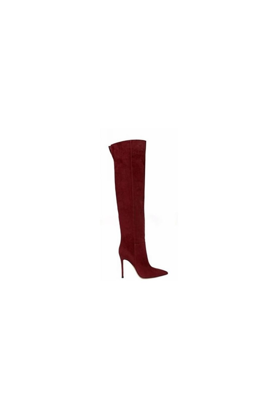 cab8571e29e PENNEY Back Opening Over The Knee High Heel Boots - 10.5cm ...