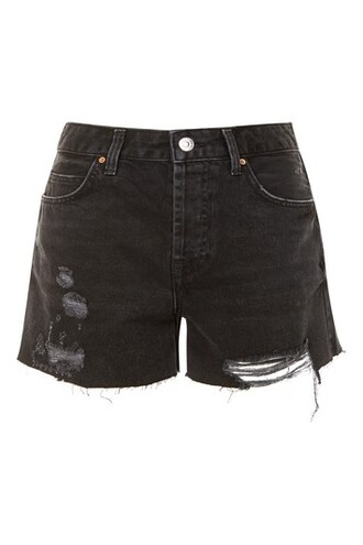 shorts denim shorts denim boyfriend black