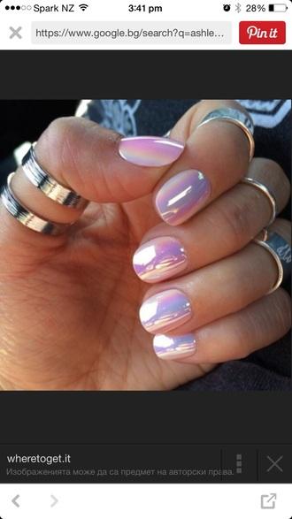 nail polish pearl