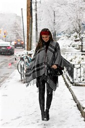 lamariposa,blogger,sweater,pants,shoes,bag,winter outfits,headband