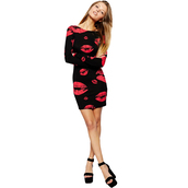 dress,kisses,fashion,style,sexy,bodycon dress,black dress,high heels