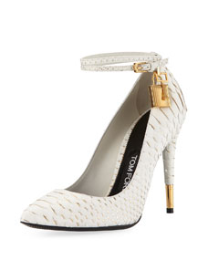 Python Ankle-Lock 105mm Pump, Chalk/Gold