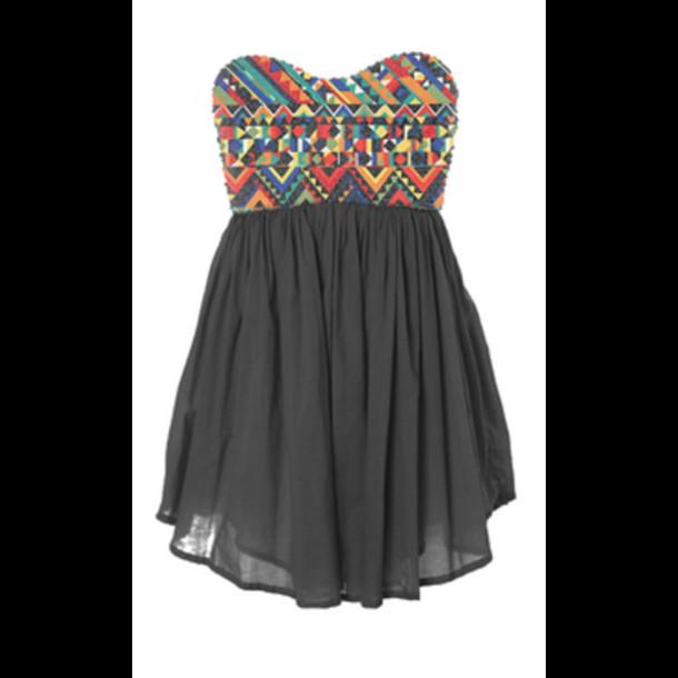 dress aztec