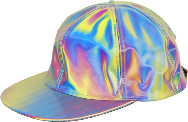 Hologram Silvercasquette Hat Holographic Basketball Hat