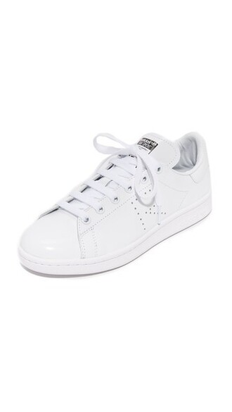 sneakers white black shoes