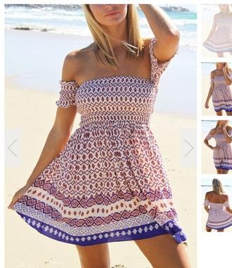 dress colorful dress summer dress