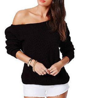 Shoulder sweater