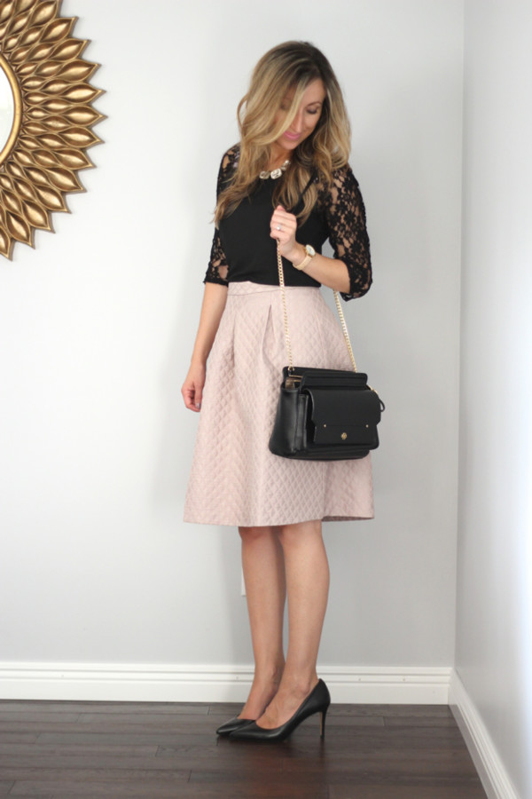 lilly's style top skirt shoes bag