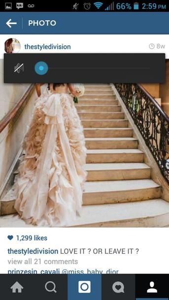 dress pastel wedding dress prom dress prom gown long dress
