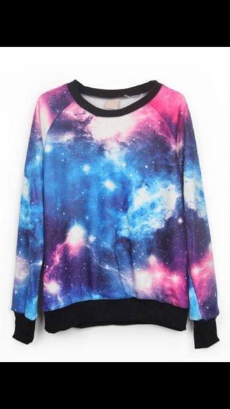 sweater universe galexy