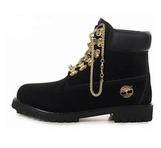 shoes timberland black tims timberlands and gold chain timberlands boots black timberlands chain black gold