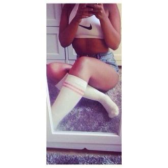 underwear swag nike shorts bra high waisted shorts clothes