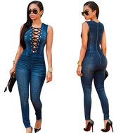 jumpsuit,blue,denim blue,denim,denim jumpsuit,long romper,long denim romper,lace up,sexy,bodycon,bodycon romper,bodycon jumpsuit,sexy club,club jumpsuit,club romper,clubwear,casual,casual jumpsuit,casual romper,jeans,skinny jeans,dark skinny jeans,preppy,cool,hot,cute,girly,girly wishlist,women,women casual,streetwear,streetstyle,urban,tumblr,tumblr outfit,strappy,deep v,deep v romper,deep  v jumpsuit,sleeveless,sleeveless romper,sleeveless jumpsuit,dark,dark denim,date outfit,style,coolhit,summer,moraki