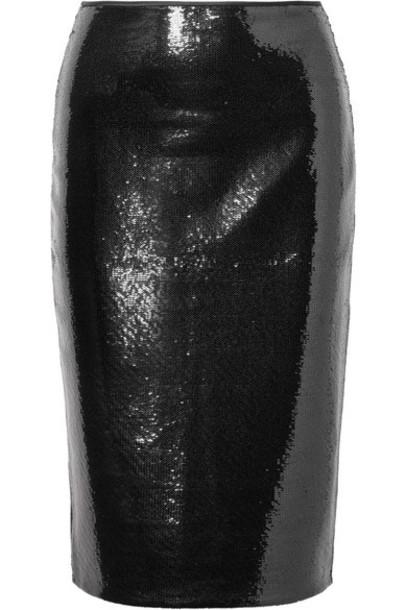 Diane Von Furstenberg skirt tulle skirt black