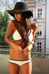 Sexy neoprene bikini swimsuit t15010801