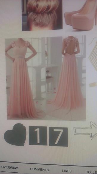 backless dresss