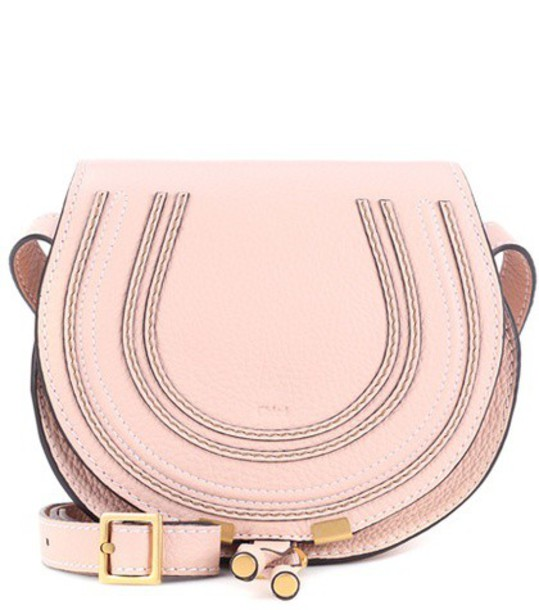 Chloe bag shoulder bag leather beige