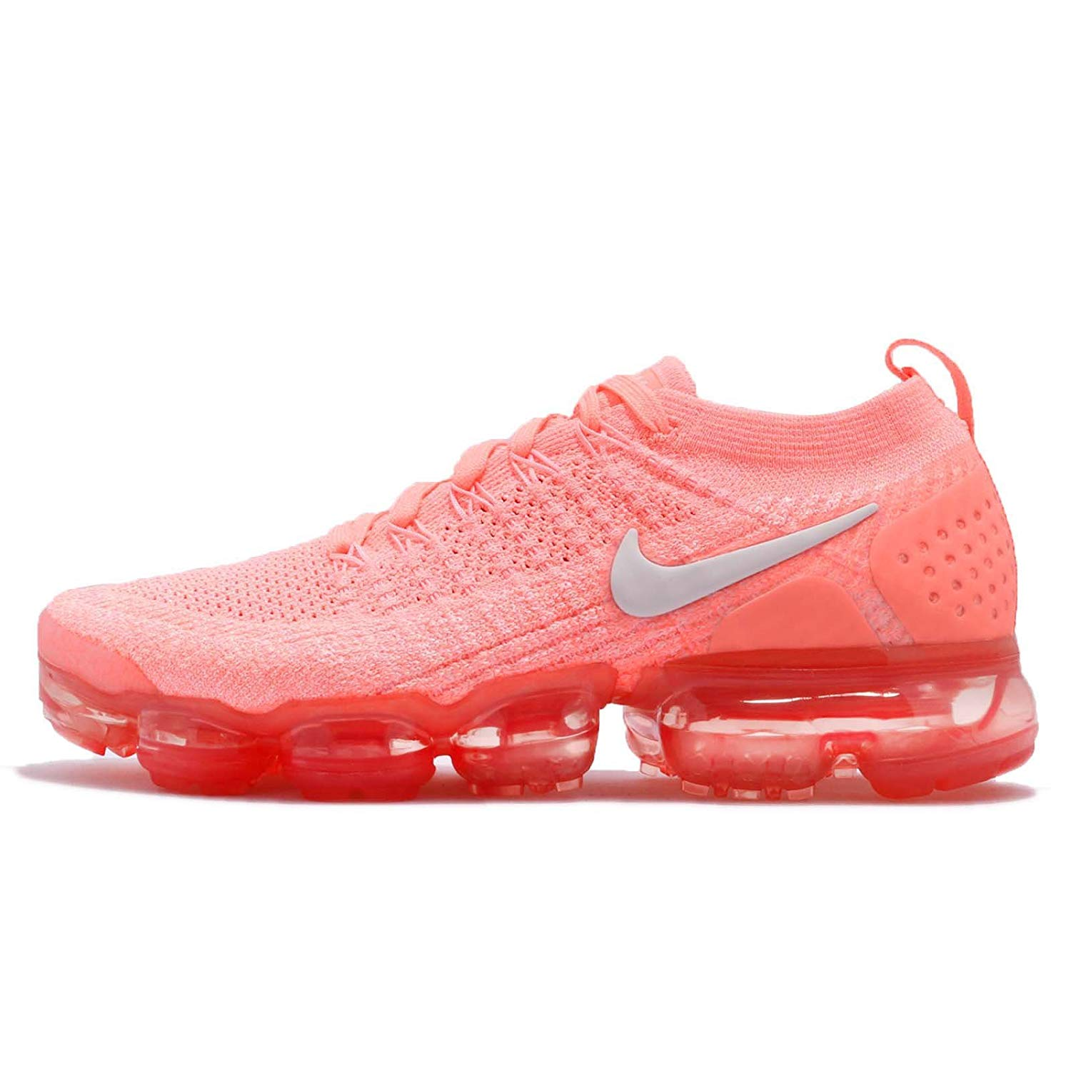wholesale dealer 41ee0 e0854 Amazon.com | NIKE Women's Wmns Air Vapormax Flyknit 2, Crimson Pulse/Sail |  Road Running