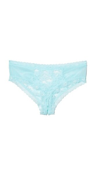 panties lace blue underwear
