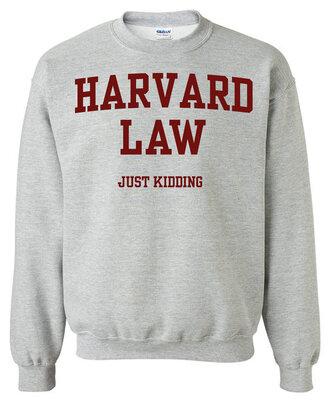 top college grey sweater sweater