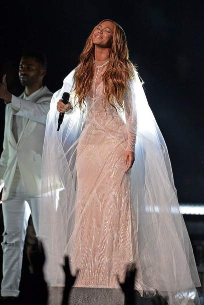 dress wedding dress gown grammys 2015