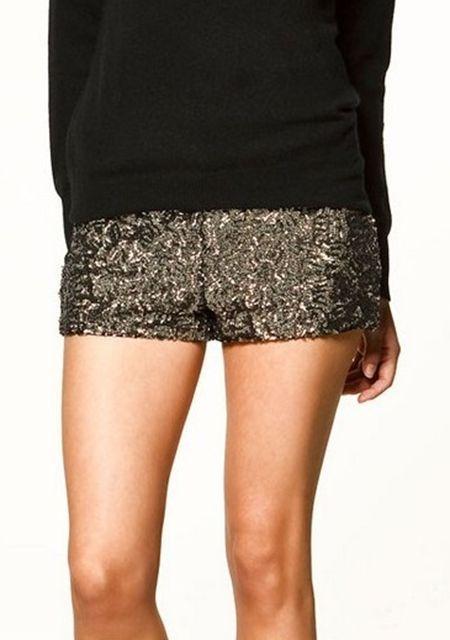 Women's paillette side zipper slim pantskirt online