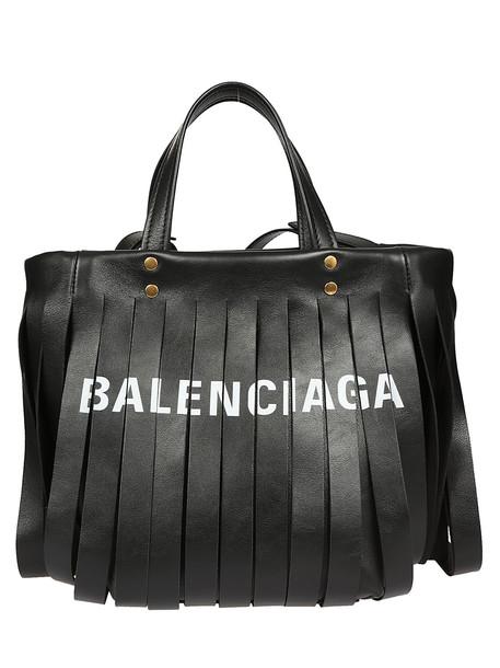 Balenciaga Tasseled Tote in noir