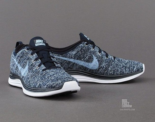 dark obsidian shoes nike nike running shoes nike flyknit nike flyknit lunar  1 flyknit for women