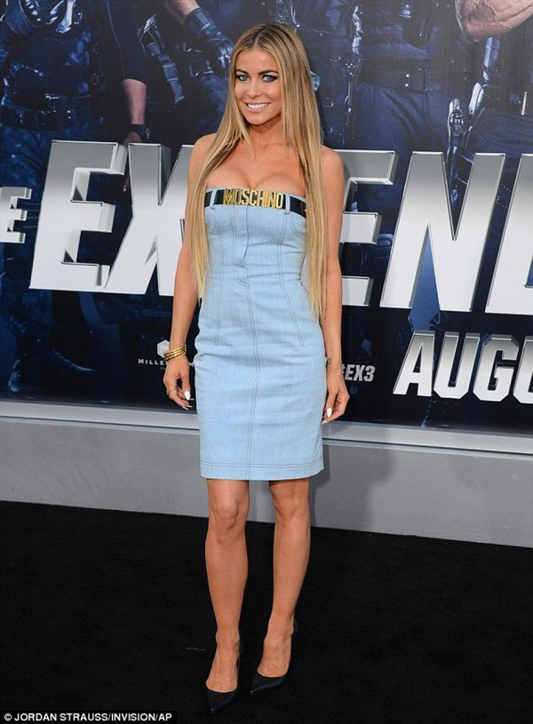 carmen electra dress blue
