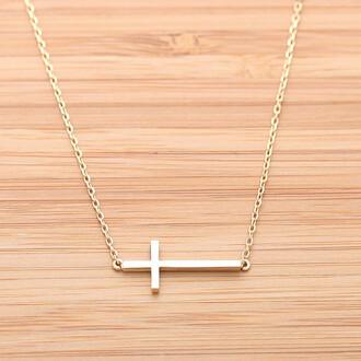 cross necklace jewels sideways cross sideways cross necklace sideways necklace