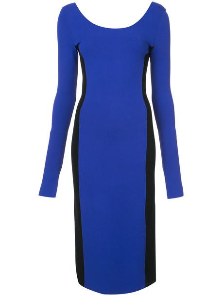 Dvf Diane Von Furstenberg dress women blue knit