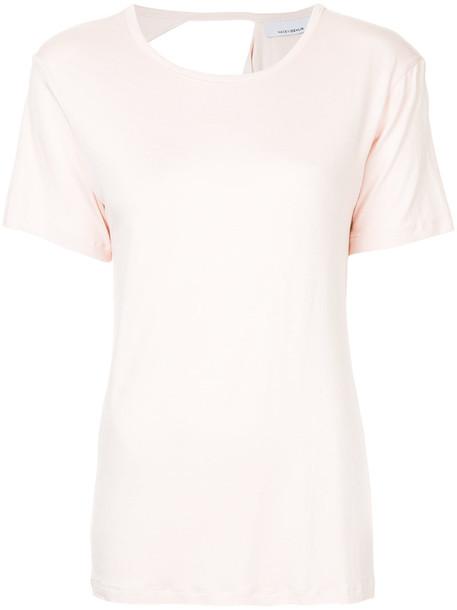 Kacey Devlin t-shirt shirt t-shirt women spandex purple pink top