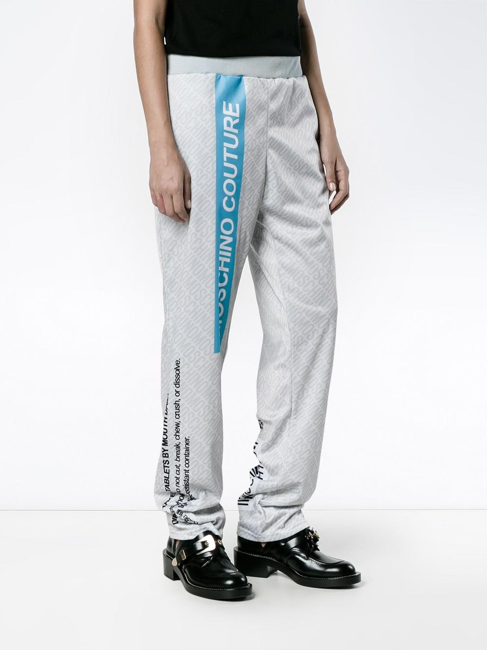 Moschino Pill Packet Track Pants - Farfetch